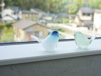 とりちゃんのはしおき  青い鳥の画像