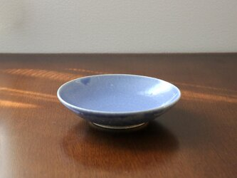 【再販】海碧貫入釉のお皿 * 約21cmの画像
