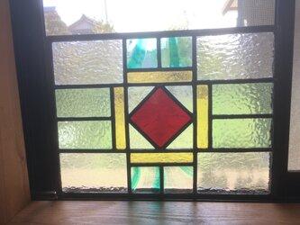 ステンドグラスパネルの画像