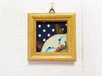 猫の小さなアクリル画【シャム猫】の画像