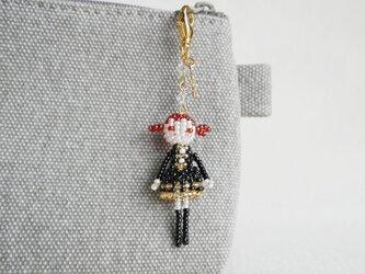 ファスナーチャーム [シーラ] ビーズドール・マスコット・人形の画像