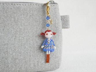 ファスナーチャーム [ノエミ] ビーズドール・マスコット・人形の画像