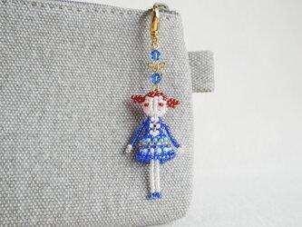 ファスナーチャーム [レイ] ビーズドール・マスコット・人形の画像