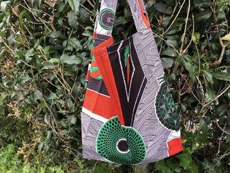 b358-アフリカ布ecoバッグの画像