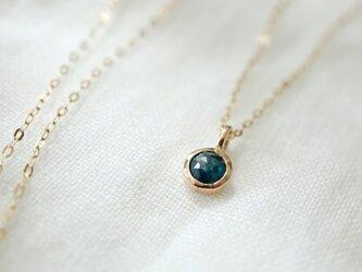 K10 ブルーダイヤモンド ネックレスの画像