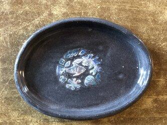 kakiotoshi black 豆皿 - 熱帯魚の画像