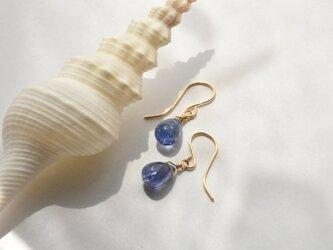 [PE] Tanzanite Pierced Earringの画像