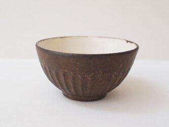 【再販】しのぎ黒茶碗・小の画像