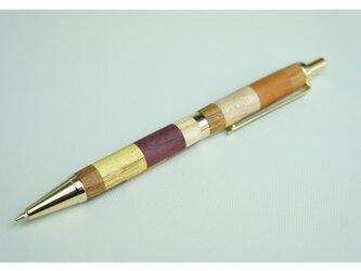 寄木のシャープペンシル・チェックの画像