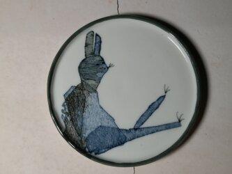 3寸皿(つまらないなー)(10-133)の画像