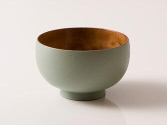 しらさぎ椀M sibo 茶×グリーンの画像