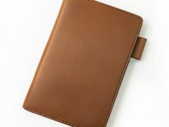 【キャメル】ポケットサイズのシステム手帳の画像
