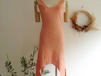 organic Lakshmi dress蓮華色の画像