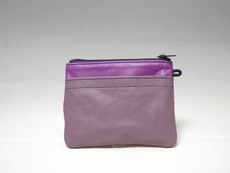 角財布(ラベンダーコンビ)【一点物】の画像