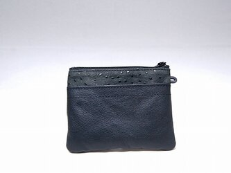 角財布(オーストリッチ調柄物)【一点物】の画像