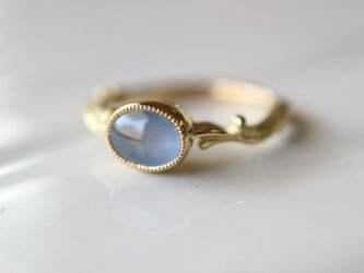 スターサファイヤ指輪の画像