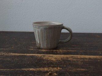 粉引き面取りマグカップ の画像