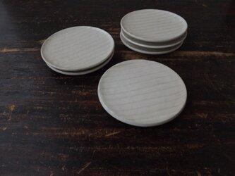 粉引き面取り小皿の画像