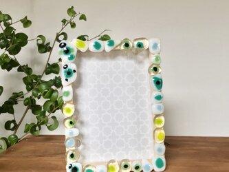 〈おうちで手づくり〉ガラスで彩る写真立てキットの画像