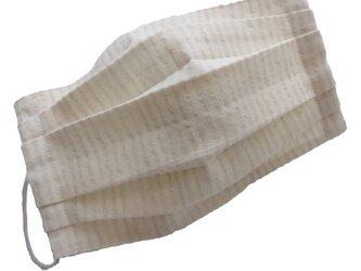 コットンヘンプのマスクの画像