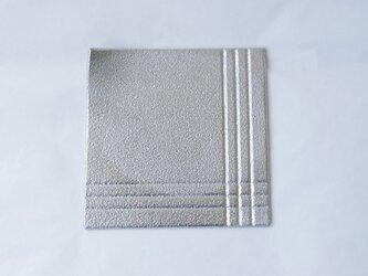 純錫製 「角皿」の画像