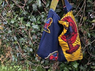 b363-アフリカ布ecoバッグの画像