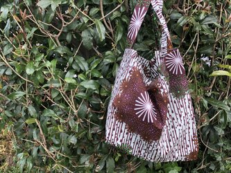 b365-アフリカ布ecoバッグの画像