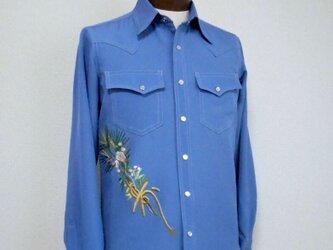サムライウェスタンシャツ Samurai Shirt MS-131/Sの画像