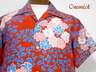 着物アロハシャツ Kimono Aloha Shirt AL-645/Lの画像