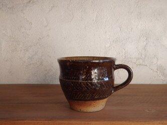 【new】コーヒーカップ(印紋)・brownの画像