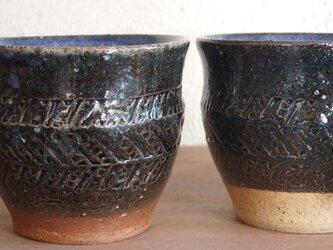 【new】コーヒーカップ(印紋)・navyの画像