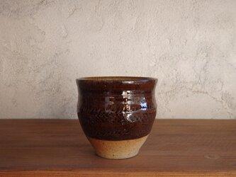 【new】カップ(印紋)・brownの画像
