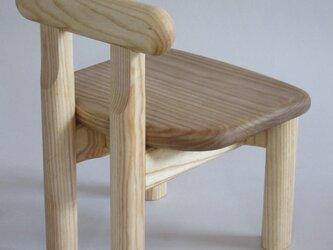 子供椅子■NAGY 018-OKO・ST■ W250xD260xH330(SH195)の画像