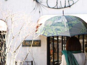 【晴雨兼用傘】 八ヶ岳の森 -朝靄-の画像