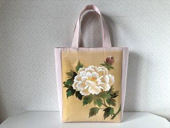 帯バッグ〜芍薬〜の画像