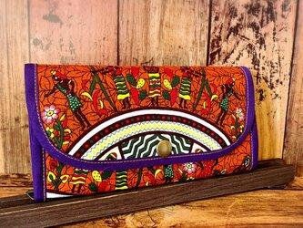 856アフリカパーニュ長財布の画像