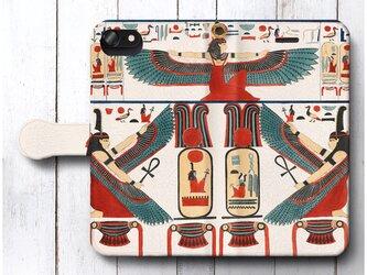 【歴史的資料 古代エジプト メンフィス テーベ】スマホケース手帳型 全機種対応 iPhone11 AQUOSの画像