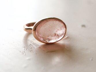 K10[シャンパーニュなモルガナイト]ringの画像