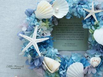 Summer Wreath ~Little Mermaid~ 19cm(プリザ)の画像