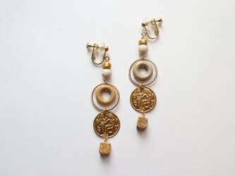 考古学者の見つけたメッセージ~ピクチャージャスパーのイヤリング~の画像