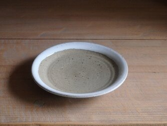 5寸平皿・フチ白の画像