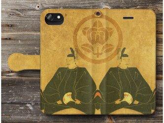 【戦国大名 井伊直政 戦国武将】スマホケース手帳型 全機種対応 iPhone11 AQUOSの画像