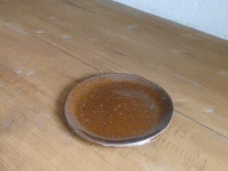 5寸タタラ皿・brownの画像