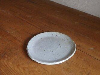 5寸タタラ皿・whiteの画像