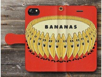 【オールドポスター バナナダンス  バナナダンス】スマホケース手帳型 全機種対応 iPhone11 iPhoneXRの画像