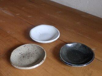 3寸タタラ皿・gray/white/navyの画像