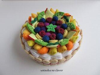 《直径14.5㎝》フルーツのケーキの画像
