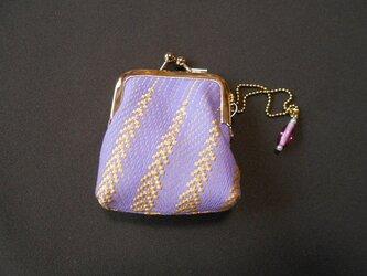 カッチリがま口/淡紫ゴールドの画像