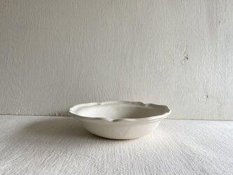 洋スープ皿 ホワイトマットの画像