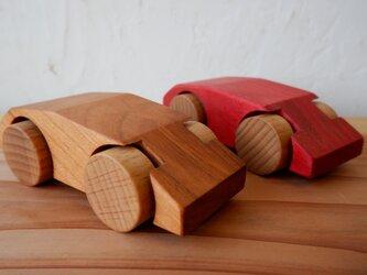「木のクルマ作り」キット【3台分】の画像